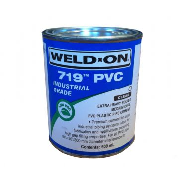 Weld-On 719 PVC Cement - 500ml